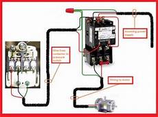 need some help wireing a motor starter