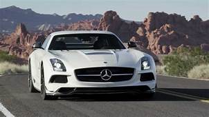 SLS AMG Black Series  Gullwing Sports Car Mercedes