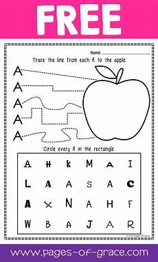 letter a recognition worksheets for preschoolers 23677 are you looking for some great activities for teaching letter recognition help your students