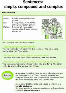 grammar exercises for grade 7 19266 grade 7 grammar lesson 12 sentences simple compound and complex 0 teaching