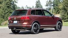 2017 Volkswagen Touareg Wolfsburg Edition Us Spec Rear
