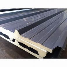 panneau sandwich toiture prix panneau sandwich 6m10 eco 30 mm sous aluminium ral 7016