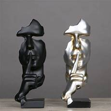 Resin Abstract Craft Figurines Decorative Sculptures