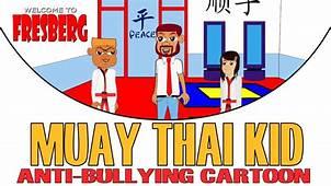 Cartoons Online  Muay Thai Kid Anti Bullying Cartoon