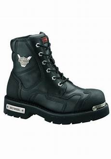 bottes de moto homme bottes harley davidson stealth en cuir noir ref d91642 botte moto homme shoemaniaq