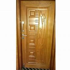 brown stylish wooden door rs 3000 square feet raja wood metal engravings id 14491741488