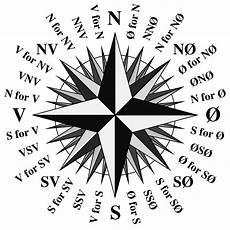 Sterne Bedeutung - kompassrose
