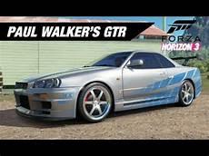 Paul Walker S Skyline Gtr Build Forza Horizon 3