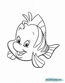 the mermaid printable coloring pages disney