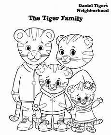 12 free printable daniel tiger s neighborhood coloring pages
