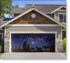 Garage Door Decorations by Garage Door Decor O Holy 2car So Want To
