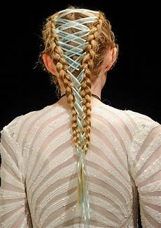 these gorgeous quot braids from fashion week are about