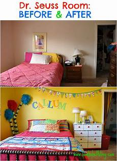 Seuss Bedroom Decor by Dr Seuss Bedroom Before After Bombshell Bling Room