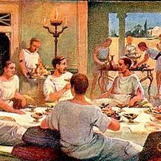 banchetti roma antica roma banchetti e abbuffate antica roma