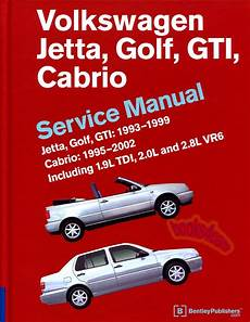 car repair manuals online free 1993 volkswagen jetta user handbook volkswagen vw jetta golf gti shop manual service repair book robert bentley book ebay