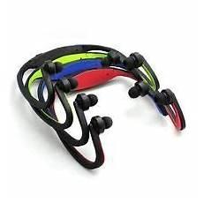 deportivos auriculares radio fm mp3 player