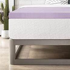 Best Price Quality Premium 3 Quot Ventilated Memory Best 2 Inch Ventilated Memory Foam Topper Lavender