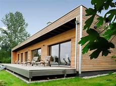 Holz Fertighaus Bungalow - holzhaus baufritz bungalow modern