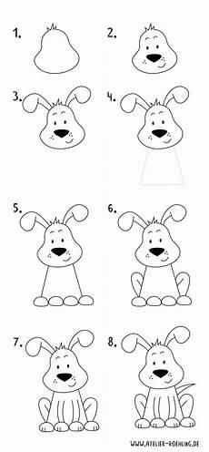 wie zeichnet einen hund schritt f 252 r schritt mit pdf