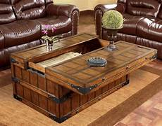 Traditional Trunk Coffee Tables Make A Addition To