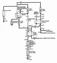 1986 ford mustang alternator wiring diagram on 1986 ford mustang svo 2 3 turbo the fuel does not run unless test jumper relay is used