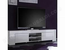 Grand Meuble Tv Blanc Laqué Grand Meuble Tv Design Blanc Laqu 233 Lima Nouvomeuble Ma