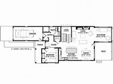 house plans for narrow lots on waterfront eplans cottage plan narrow lot waterfront walkout home