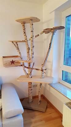 kratzbaum f 252 r katzen aus birke heimatruf