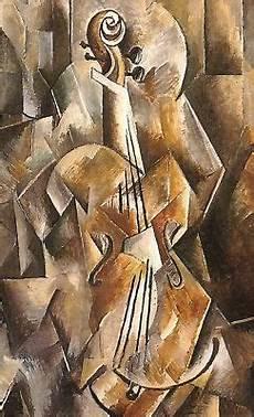 Synthetischer Kubismus Picasso - georges braque violine und krug 1910 picasso sowie