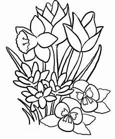 Ausmalbilder Sommerblumen Free Summer Coloring Pages Printable