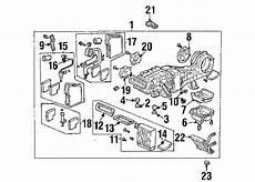 2007 honda pilot engine diagram parts 174 honda air conditioner and heater evaporator and heater components partnumber