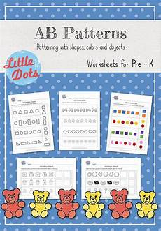 patterns worksheets pre k 208 31 best ed patterns images on math patterns day care and learning