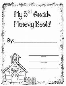 3rd grade memory book end of the year by pickich tpt