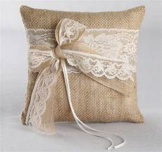 this beautiful country ring bearer pillow will combine rustic and elegance to your