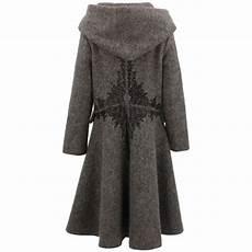 Damen Wolle Wintermantel Jacke Boh 232 Me Schweden Gewoben