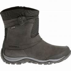 merrell s dewbrook zip waterproof winter boots