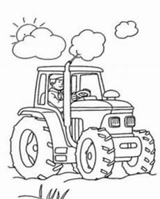 traktor malvorlagen gratis zum ausdrucken