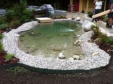 Kleinen Teich Bauen - gartenteich mit sitzecke suche bassin