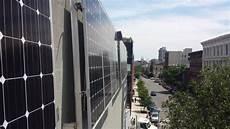 Befestigung Sonnensegel Hauswand - custom wall mount solar panel array for williamsburg