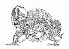 by pauline dragons coloring pages