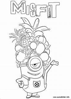 Ausmalbilder Zum Drucken Minions Minions Malvorlagen