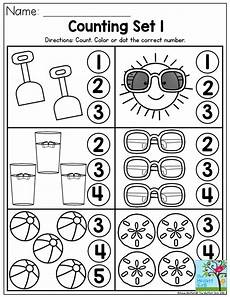 color review worksheets for preschool 12881 counting summer number recognition activity from the summer review no p