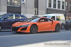 acura nsx spotted in manhattan new york 03 09 2019