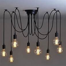 bricolage luminaire plafond onever lustre 224 8 oules e27 r 233 tro vintage style