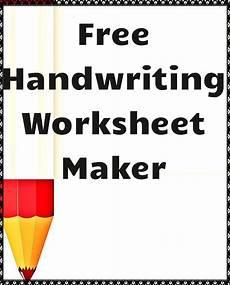 create worksheets free 19299 handwriting worksheet maker handwriting worksheet maker worksheet maker kindergarten writing