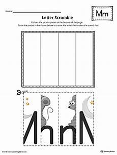 letter m worksheets printable 23776 letter m scramble worksheet color myteachingstation