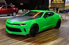 2017 Chevrolet Camaro Ss 1le New V 6 1le Revealed For