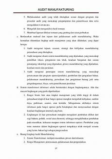 makalah audit manajemen audit manufaktur jiantari c 301 09 013