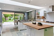 open house plans with large kitchens 50 degrees architects ground floor rear extension in