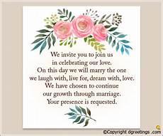 Wedding Invitation Prayer